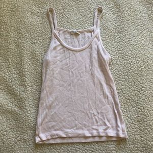 Brandy Melville | Cropped Off White Tank Top